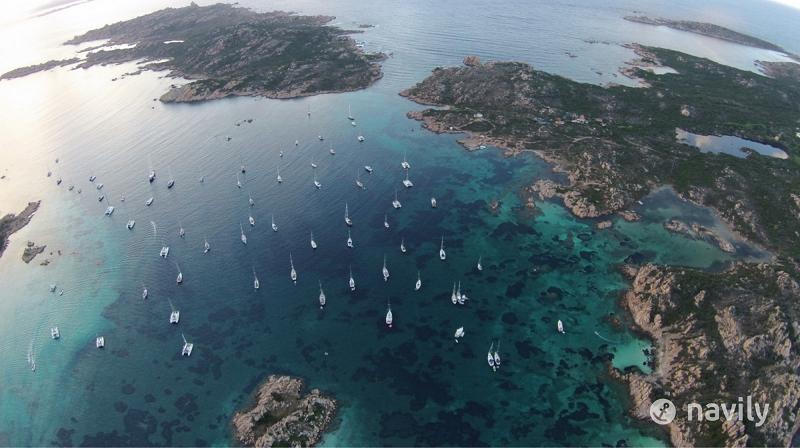 Budelli Island in the Maddalena Archipelago