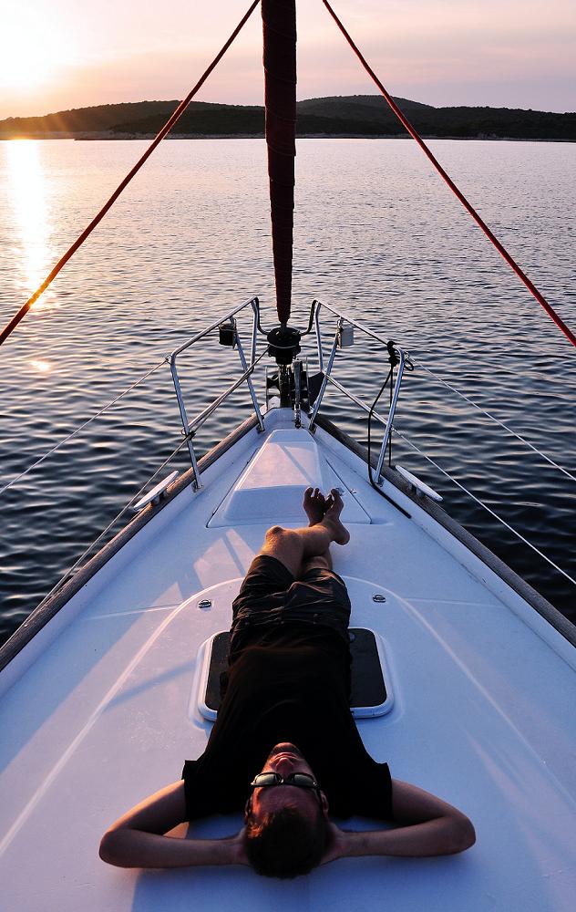 farniente en bateau