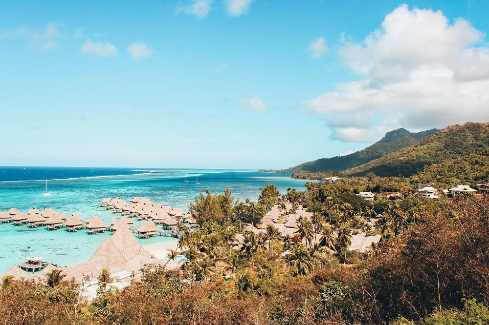 île française de Bora Bora